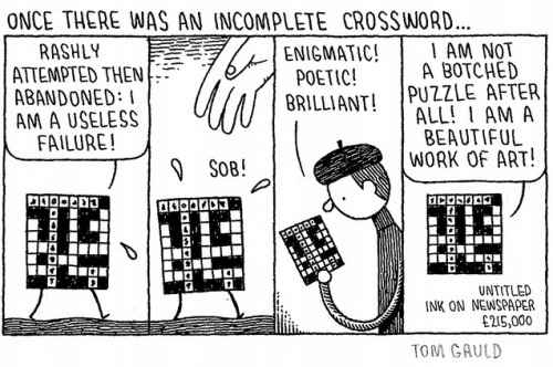 nevver:  The Incomplete Crossword