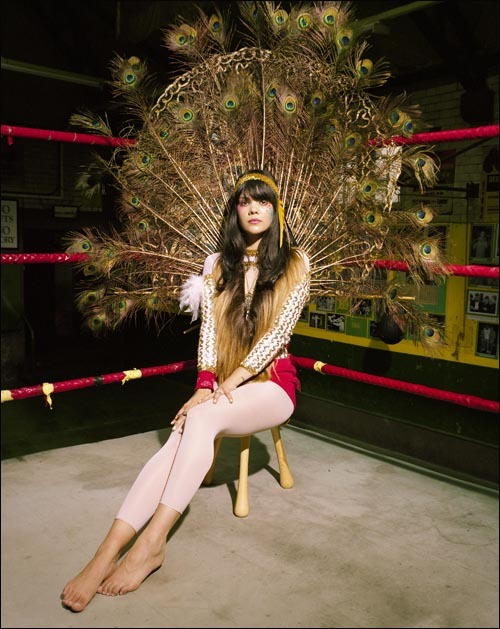 Natasha Khan of Bat for Lashes.