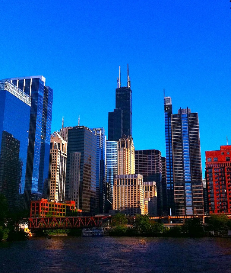There's nothing quite like a Chicago city view. Photo Credit: Natalie Paldrmic