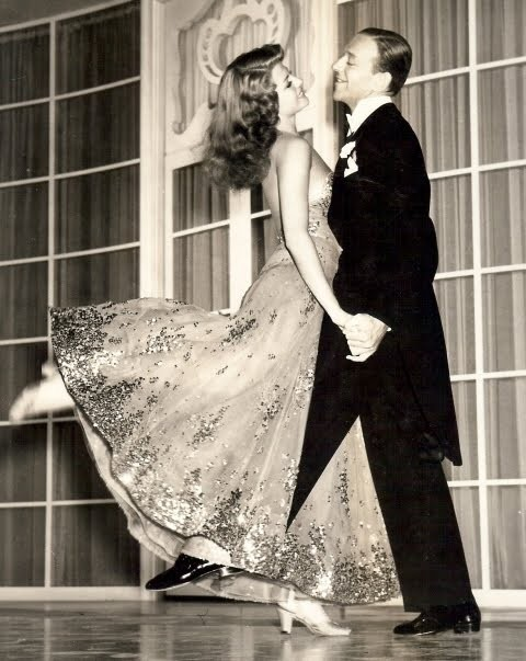 justcallmegrace:  Fred Astaire and Rita Hayworth