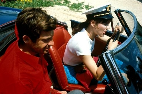 hitchcockblonde:  Pierrot le Fou makes me want to wear more red, white, and blue.