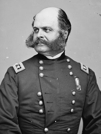 The Best Facial Hair in the Civil War | Smithsonian Magazine There are some I'm not sure how you can pick anyone other than Ambrose Burnside, who in addition to being a native of my hometown, had the only facial hairstyle named for him (sideburns).   Now, it's not the best overall Civil War era namesake (that, of course, would be the questionably-factual General Joseph Hooker), but easily the best hairstyle name.. (Thanks to Liz for passing this along).