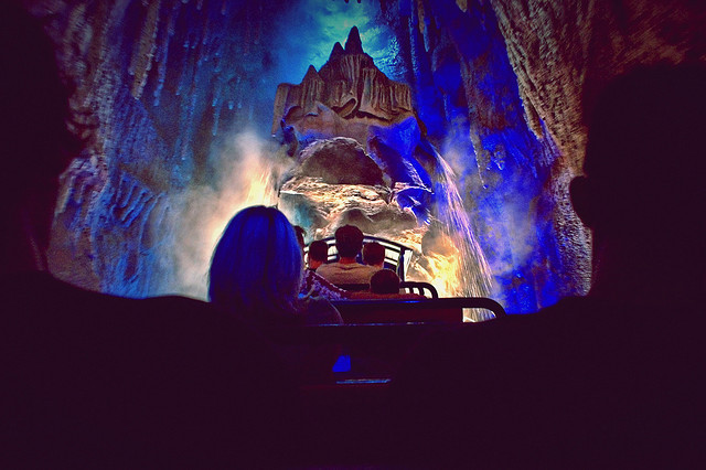 Big Thunder Mountain Railroad - On Ride by Express Monorail