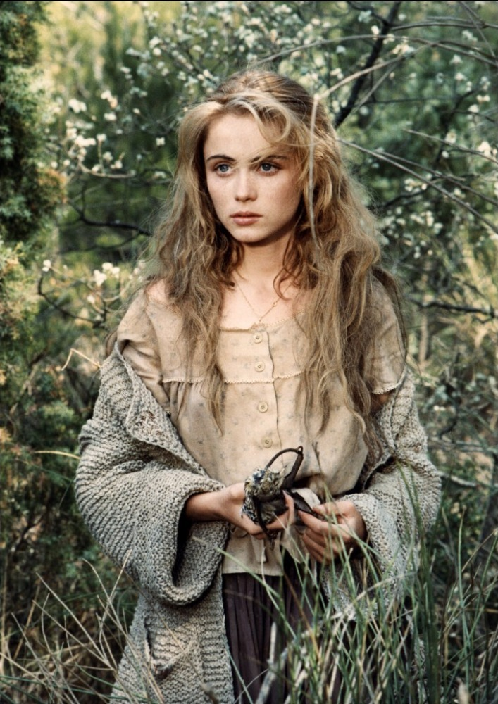 "Emmanuelle Béart in ""Manon of the Spring"" (1986)"