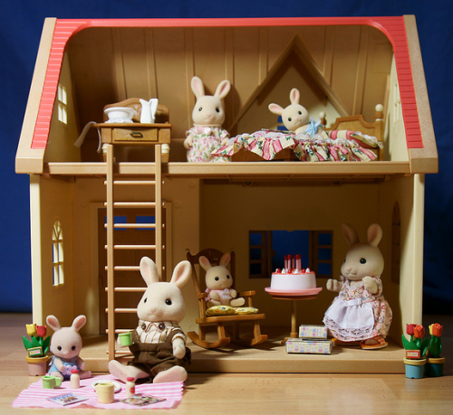 Sylvanian families are still some of my fave miniature toys. So soft!!