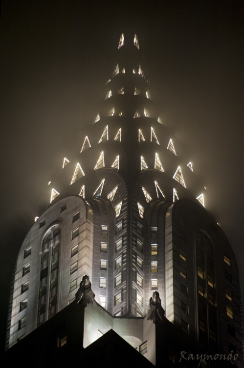 landscapelifescape:  Chrysler Building, New York City Chrysler Spaceship (by Ray ())
