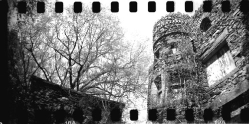Abandoned and beautiful: Hearthstone Castle/Mansion,   (by blormore on Lomography)