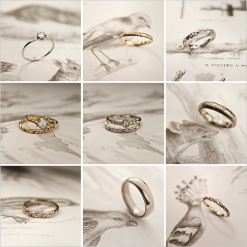weddingarchives:  Handmade wedding rings. www.rustjewellery.com