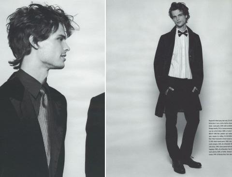 HOTTIE: Matthew Grey Gubler