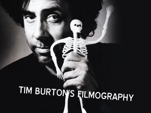 matt-smith-:  Tim Burton's Filmography:  Vincent | Frankenweenie | Pee-Wee's Big Adventure | Beetlejuice | Batman | Edward Scissorhands | Batman Returns | The Nightmare Before Christmas | Cabin Boy | Ed Wood | Batman Forever | James and the Giant Peach | Mars Attacks! | Sleepy Hollow | Planet of the Apes | Big Fish | Charlie and the Chocolate Factory | Corpse Bride | Sweeney Todd: The Demon Barber of Fleet Street | 9 | Alice in Wonderland |