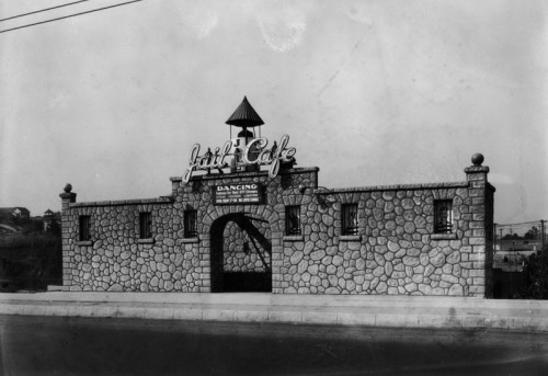 The Jail Cafe on Sunset Blvd. in Los Angeles, CA - 1927
