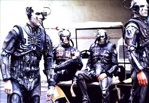 Just some Borg, chillin'.  You know how it is.