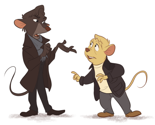 thehitcher-:  The Great Mouse Sherlock - not-quite-normal
