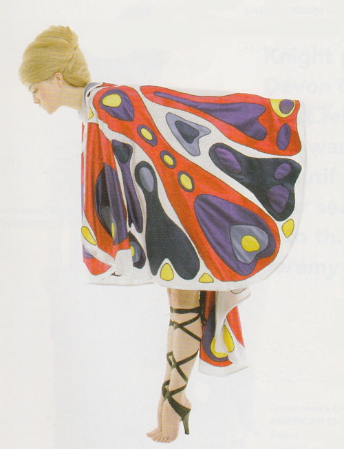 Devon Aoki in Jeremy Scott