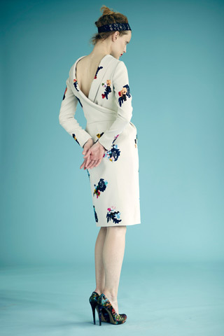 erdem resort 2012 beautiful cut & print