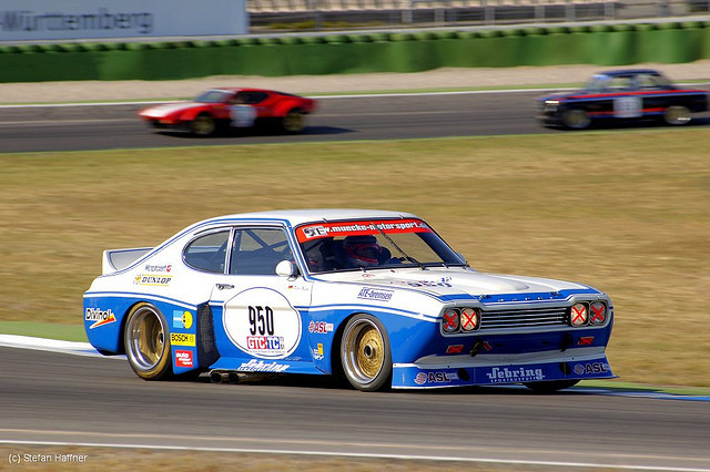 Victory in its Eyes by Stefan Haffner 1974 Ford Capri RS3100 Location: Jim Clark Revival in Switzerland