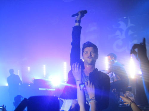 mysentimentaltune: Saw 'The Script' at the Kool Haus in Toronto on Tuesday! They were amazing! :)