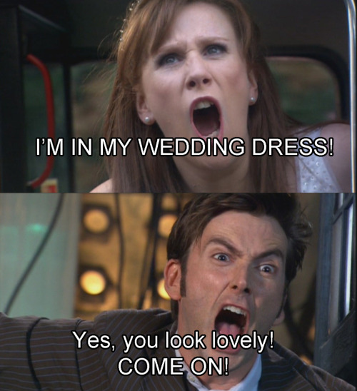 Donna and The Doctor…