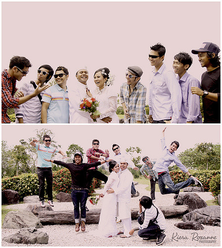 Don't doubt the fun with boys entourage.Preview: Sue & FirdauzPhotography by Kiera Roxanne