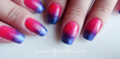 Oooh, check out the tutorial for these totally cute purple to pink gradient nails! (via beautylish)