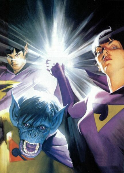 The Wonder Twins by Alex Ross (Isnt this EPIC?)
