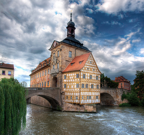 Town Hall of Bamberg in Germany (by Werner Kunz)