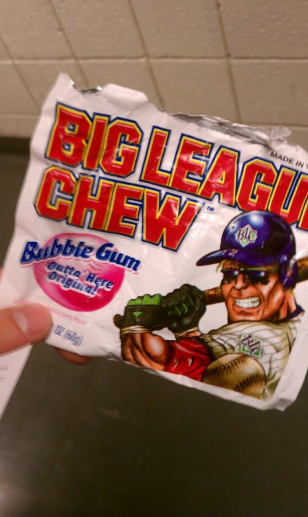 Big league chew is the shit