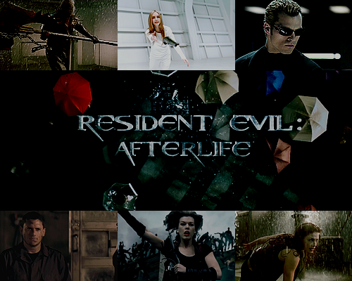 30 Days of the Resident Evil MoviesDay 1: What's your favorite movie?—> Resident Evil: Afterlife(And, I'm pretty sure it has to do with The Axeman, Ali Larter and K-Mart hitting Bennett in the face. Asshole.)