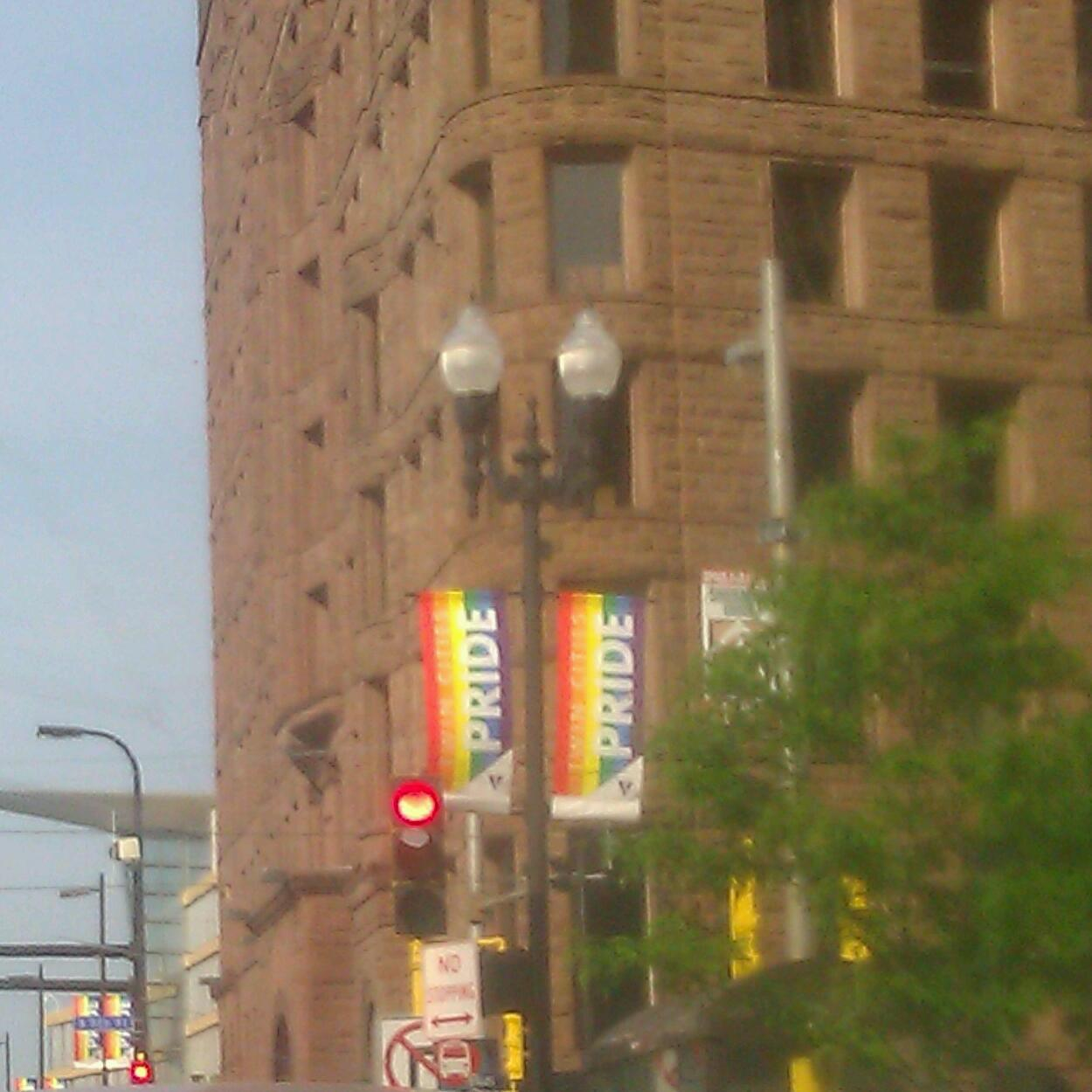 I love minneapolis! Pride month!!