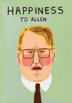 Jack Teagle. Caricature of Phillip Seymour Hoffman from one of my favorite movies. Happiness.