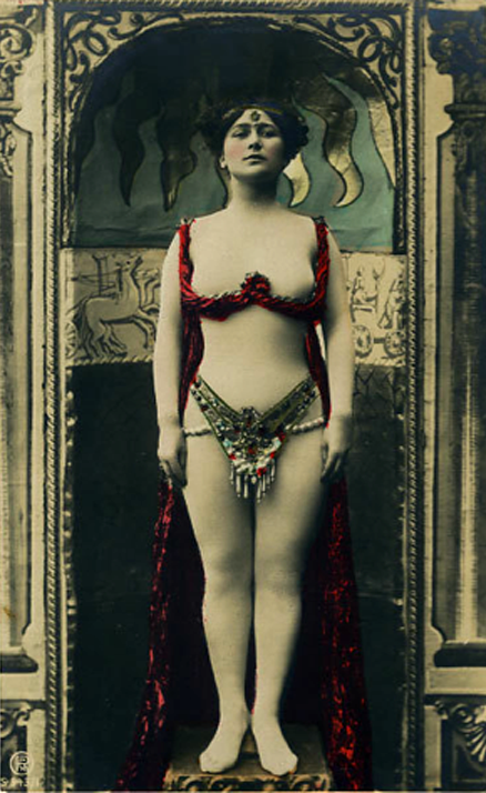 Belly Dancer french postcard c. 1910s