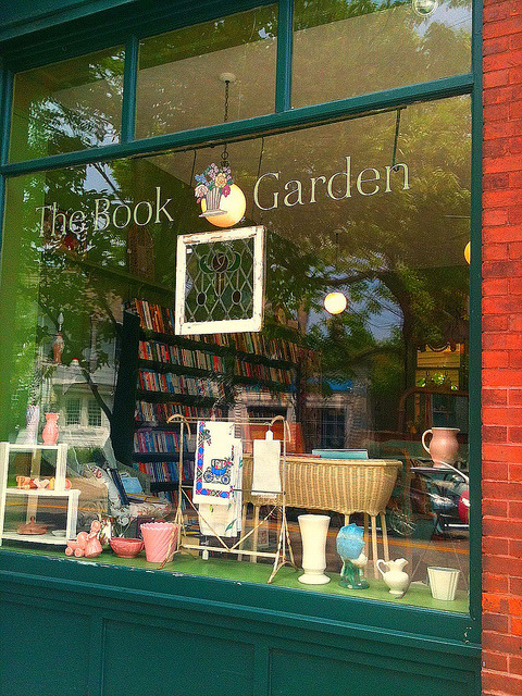 The Book Garden bookstore
