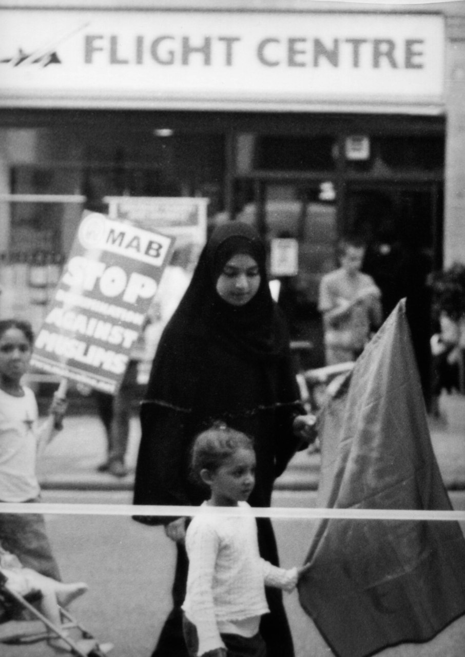 Photographs taken at demonstrations in London 2003-2009, from the exhibition Other People's Children