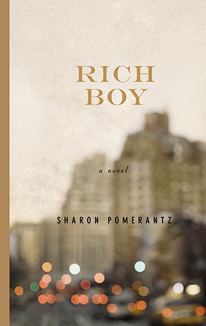 I'm about halfway through Rich Boy by Sharon Pomerantz and I cannot put it down.  I couldn't even wait to finish reading it before telling you to go read this book immediately.