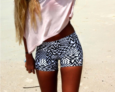 youngfabulousme:  Aztec shorts