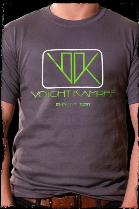(via Voight Kampff Empathy Test - Blade Runner Movie T-shirt)