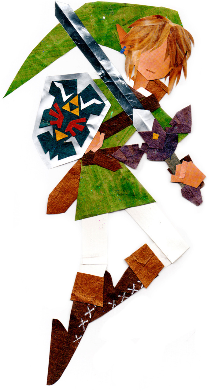 Geektastic Paper Collage  Link  (by ~botajira)