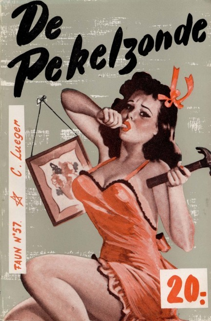 mudwerks:  (via Pulp International - Three vintage Dutch pulp covers by Peter Driben)