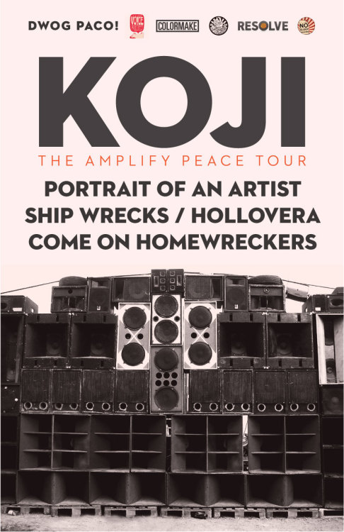 We're playing a really cool show on 6/17 with one of our buds Koji. If you miss out on this one, you totally blew it. So, make sure you get all the details. $8 adv / $10 doors - 7PM