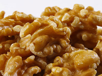"theperksofbeingavegan:  ""The omega-3 fats in walnuts, which affect levels of the mood-altering brain chemical serotonin, make them useful for dealing with depression. They also contain melatonin, which aids the body's natural sleep patterns so they may help deal with insomnia.""  Hamlyn. 2007. 100 Health Boosting Foods. Octopus Publishing Group: London.  Can raise Histamine levels in the body so I eat a few at a time but they are one of my sources of Omega 3  The Reluctant Raw Foodist"