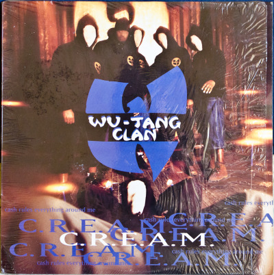 "Wu-Tang Clan - C.R.E.A.M. (Cash Rules Everything Around Me) (12"") Label: Loud Cat#: 07863-62766-1 HipHop, USA, 1994 RYM / Discogs Note: Mystery Of Chessboxin' on the flip. Classic shit."