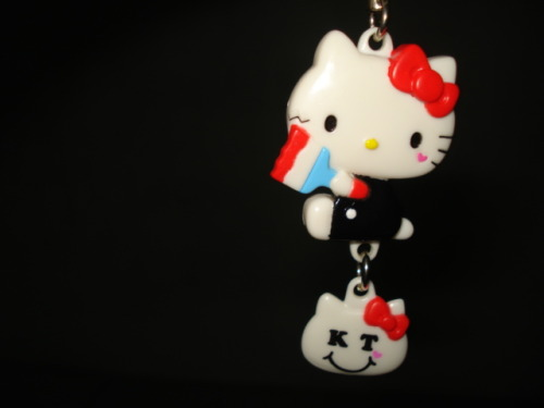 my Hello Kitty keychain ♥