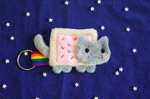 A little bit in love with Nyan Cat at the moment, not gonna lie.