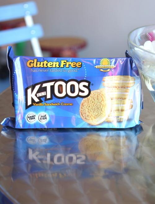 Gluten Free Cookies: Vanilla Sandwich Creme KinniTOOS