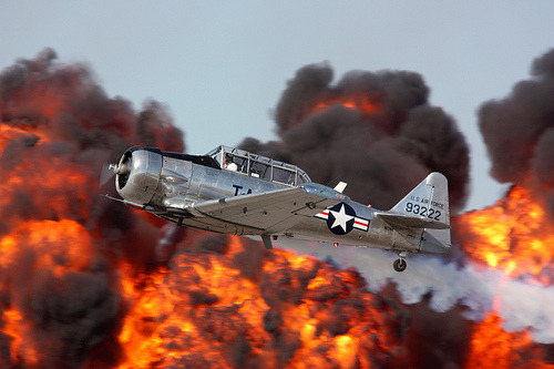 On Air: NA T-6 Texan (by radaroneone1)
