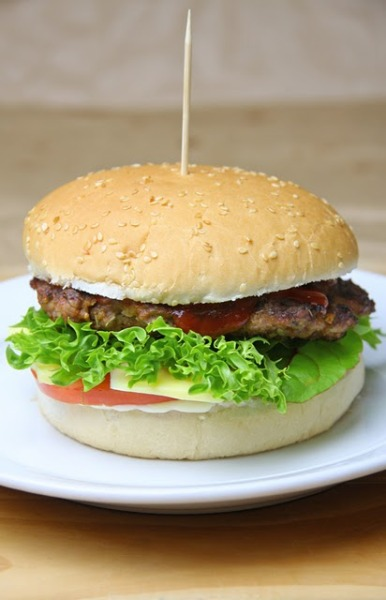 Healthy Beef Patty - easy to make and very moist and tasty Recipe