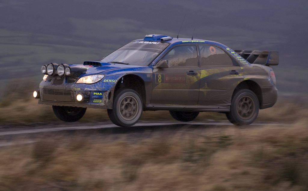 Mud Sport by Rob 68 Subaru Impreza WRX STi WRC Location: Wales Rally, Great Britain