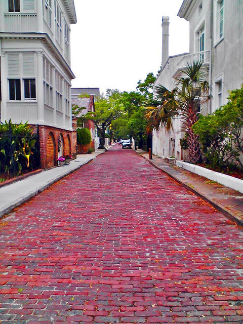 realhousewivesofchs; fycharleston:  Church Street, view from South Battery Street