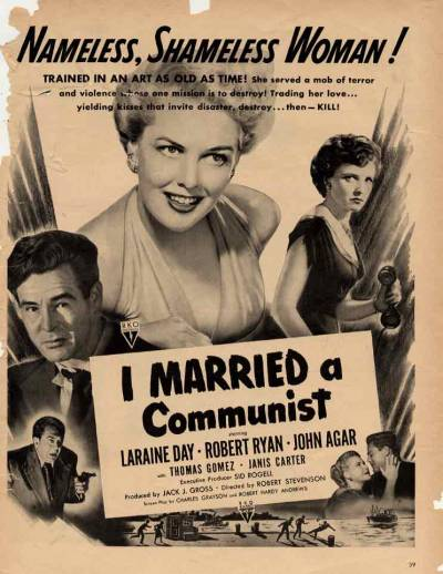 I Married a Communist !!!