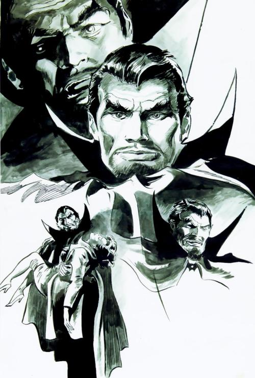 Tomb of Dracula Pin-Up by Gene Colan